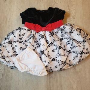 Baby Bonnie Winter Dress